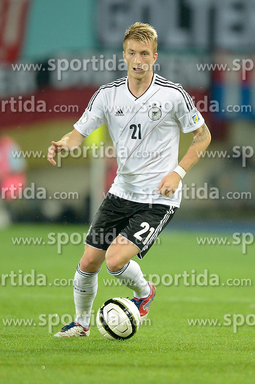 11.09.2012, Ernst Happel Stadion, Wien, AUT, FIFA WM Qualifikation, Oesterreich vs Deutschland, im Bild Marco Reus (GER, #21) // during FIFA World Cup Qualifier Match between Austria and Germany at the Ernst Happel Stadion, Vienna, Austria on 2012/09/11. EXPA Pictures © 2012, PhotoCredit: EXPA/ Gerald Dvorak