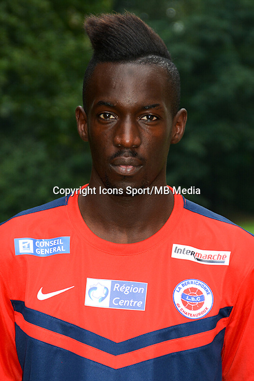 Lassana DOUCOURE - 19.10.2014 - Portrait Officiel - Chateauroux - Ligue 2 -<br /> Photo : Reignoux / Chateauroux / Icon Sport