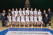 DESCRIZIONE : Pomezia Torneo Internazionale Basket Femminile Nazionale Italia Donne Under 20<br /> GIOCATORE : Foto di Squadra<br /> SQUADRA : Italia<br /> EVENTO :  Pomezia Torneo Internazionale Basket Femminile Nazionale Italia Donne Under 20<br /> GARA : <br /> DATA : 29/12/2006<br /> CATEGORIA : Ritratto<br /> SPORT : Pallacanestro<br /> AUTORE : Agenzia Ciamillo-Castoria/E.Castoria<br /> Galleria : FIP Nazionale Italiana<br /> Fotonotizia : Pomezia Torneo Internazionale Basket Femminile Nazionale Italia Donne Under 20<br /> Predefinita :