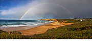rainbow over Jan Juc