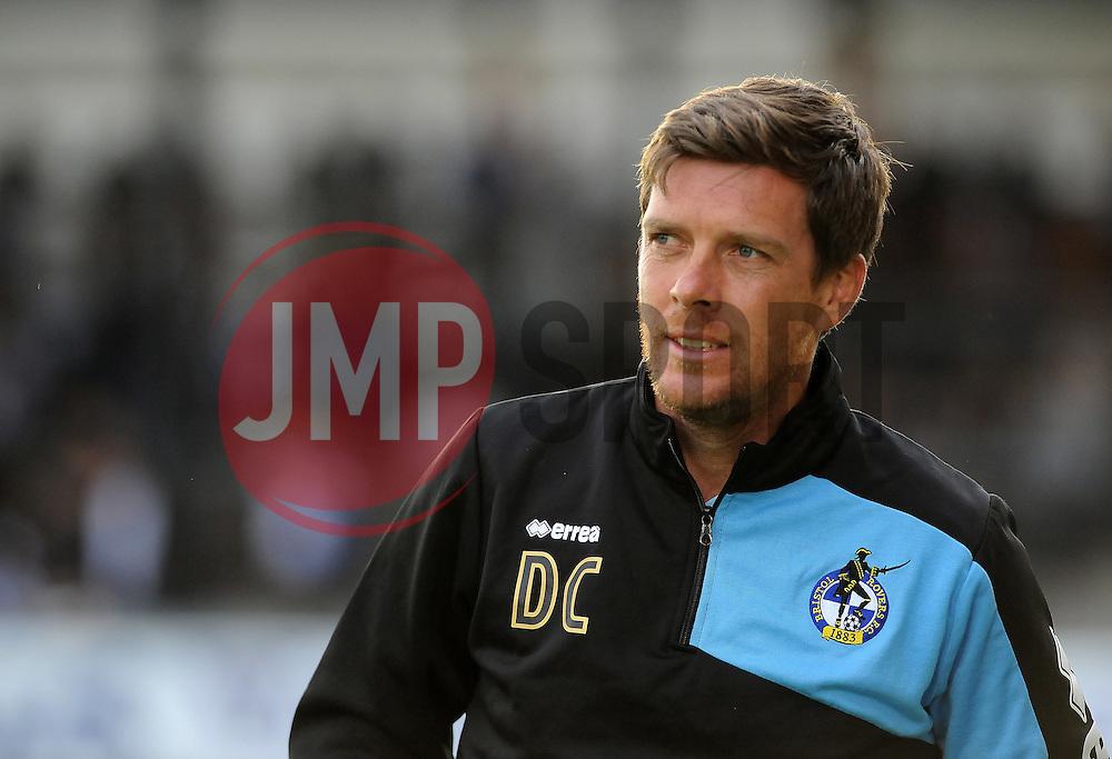 Bristol Rovers manager, Darrell Clarke - Mandatory by-line: Neil Brookman/JMP - 21/07/2015 - SPORT - FOOTBALL - Bristol,England - Memorial Stadium - Bristol Rovers v Reading - Pre-Season Friendly