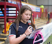 28th April 2018, Fir Park, Motherwell, Scotland; Scottish Premier League football, Motherwell versus Dundee;