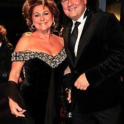 NLD/Katwijk/20101030 - Inloop premiere musical Soldaat van Oranje, Christine Kroonenberg en jaap Liethof