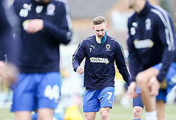 Scott Wagstaff of AFC Wimbledon with his beard dyed blue and yellow - Mandatory by-line: Arron Gent/JMP - 16/02/2019 - FOOTBALL - Cherry Red Records Stadium - Kingston upon Thames, England - AFC Wimbledon v Millwall - Emirates FA Cup fifth round proper