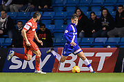Jake Hessenthaler during the Sky Bet League 1 match between Gillingham and Leyton Orient at the MEMS Priestfield Stadium, Gillingham, England on 15 November 2014.