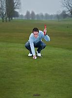 AMSTERDAM - Instructie met golfprofessional DANIEL JUNG . COPYRIGHT KOEN SUYK