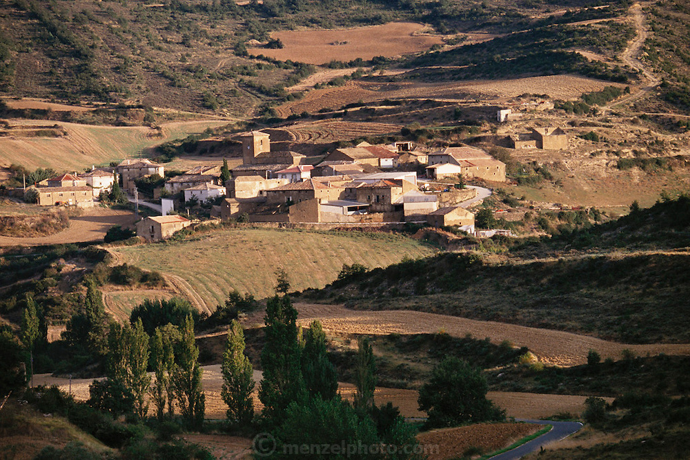 Village of Leoz, in Navarra, Spain.