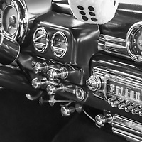 1949 Mercury Coupe 2 Dr black and white