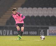 Scotland's Liam Henderson   - Scotland under 21s v Estonia international challenge match at St Mirren Park, St Mirren. Pic David Young<br />  <br /> - &copy; David Young - www.davidyoungphoto.co.uk - email: davidyoungphoto@gmail.com