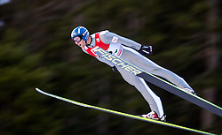 19.12.2014, Nordische Arena, Ramsau, AUT, FIS Nordische Kombination Weltcup, Skisprung, PCR, im Bild Bernhard Gruber (AUT) // during Ski Jumping of FIS Nordic Combined World Cup, at the Nordic Arena in Ramsau, Austria on 2014/12/19. EXPA Pictures © 2014, EXPA/ JFK