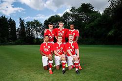 Bristol City's 2014/15 new signings pose for a photograph - Photo mandatory by-line: Rogan Thomson/JMP - 07966 386802 - 04/08/2014 - SPORT - FOOTBALL - BCFC Training Ground, Failand - Bristol City, 2014/15 Team Photos.