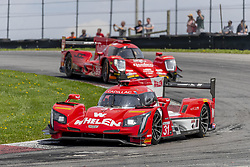 May 6, 2018 - Lexington, Ohio, United States of America - The Whelen Engineering Racing Cadillac DPI car races through the keyhole turn during the the Acura Sports Car Challenge at Mid Ohio Sports Car Course in Lexington, Ohio. (Credit Image: © Walter G Arce Sr Asp Inc/ASP via ZUMA Wire)