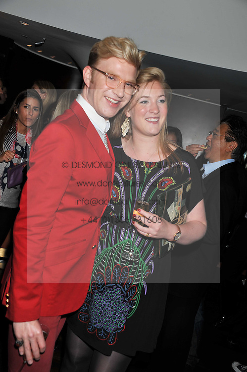 HENRY CONWAY and his sister CLAUDIA CONWAY at a party to relaunch the Met Bar at 19 Old Park Lane, London W1 on 5th October 2011.