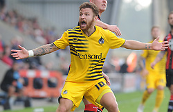 Matty Taylor of Bristol Rovers - Mandatory byline: Neil Brookman/JMP - 07966 386802 - 03/10/2015 - FOOTBALL - Globe Arena - Morecambe, England - Morecambe FC v Bristol Rovers - Sky Bet League Two