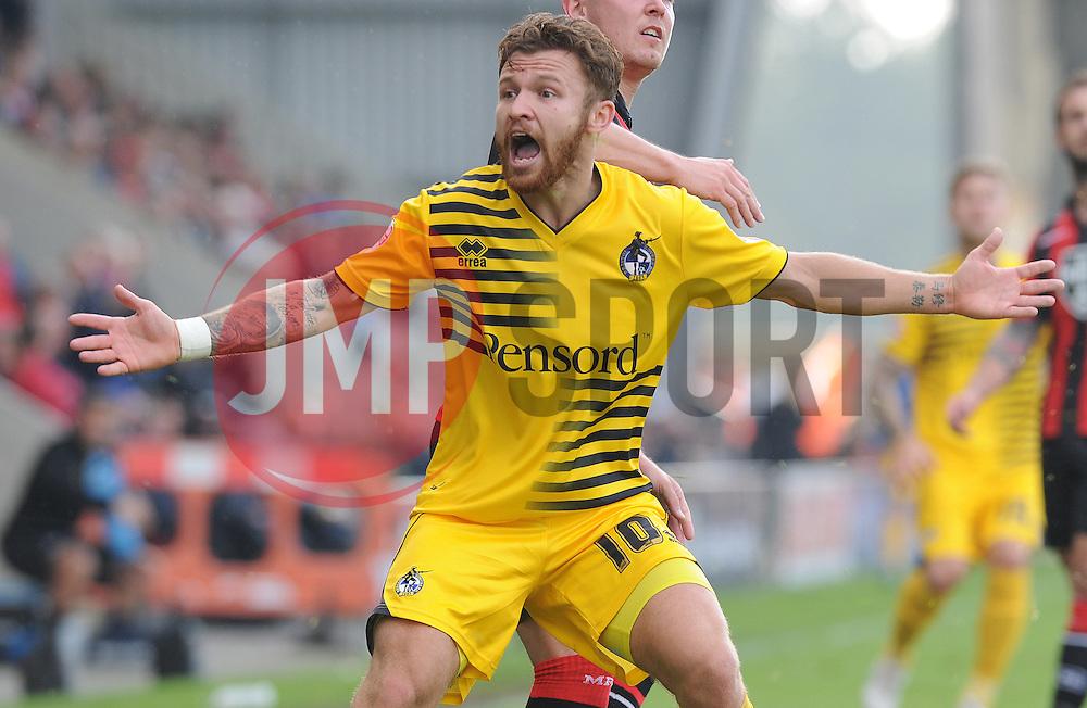 Matty Taylor of Bristol Rovers - Mandatory byline: Neil Brookman/JMP - 07966 386802 - 03/10/2015 - FOOTBALL - Globe Arena - Morecambe, England - Morecambe FC v Bristol Rovers - Sky Bet League Two