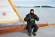 Ice Sailing on Lake Winnipesaukee 15Feb16
