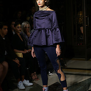Freemasons Hall, London, England, UK. 15th September 2017. Michaela Frankova showcases latest collection at FASHION SCOUT SS18.