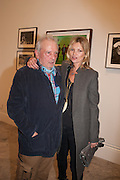 DAVID BAILEY; KATE MOSS, Opening of Bailey's Stardust - Exhibition - National Portrait Gallery London. 3 February 2014