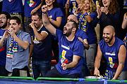 DESCRIZIONE : Campionato 2015/16 Serie A Beko Dinamo Banco di Sardegna Sassari - Umana Reyer Venezia<br /> GIOCATORE : Commando Ultra' Dinamo<br /> CATEGORIA : Ritratto Esultanza Ultras Tifosi Spettatori Pubblico<br /> SQUADRA : Dinamo Banco di Sardegna Sassari<br /> EVENTO : LegaBasket Serie A Beko 2015/2016<br /> GARA : Dinamo Banco di Sardegna Sassari - Umana Reyer Venezia<br /> DATA : 01/11/2015<br /> SPORT : Pallacanestro <br /> AUTORE : Agenzia Ciamillo-Castoria/L.Canu