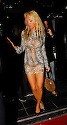27.FEBRUARY.2007. LONDON<br /> <br /> AISLEYNE HORGAN-WALLACE LEAVING JOANNA BECKHAM&rsquo;S BIRTHDAY PARTY AT SILVER NIGHT CLUB IN MAYFAIR AT 3.00AM LOOKING WORSE FOR WEAR.<br /> <br /> BYLINE: EDBIMAGEARCHIVE.CO.UK<br /> <br /> *THIS IMAGE IS STRICTLY FOR UK NEWSPAPERS AND MAGAZINES ONLY*<br /> *FOR WORLD WIDE SALES AND WEB USE PLEASE CONTACT EDBIMAGEARCHIVE - 0208 954 5968*
