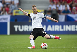 June 18, 2017 - Tychy, Poland - Maximilian Arnold of Germany pictured in action during the UEFA European Under-21 Championship 2017 Group C match between Germany and Czech Republic at Tychy Stadium in Tychy, Poland on June 18, 2017  (Credit Image: © Andrew Surma/NurPhoto via ZUMA Press)