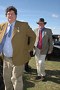 Tim Hoare and Arthur Millholland, Goodwood Revival Meeting. Saturday 17 September 2005.  ONE TIME USE ONLY - DO NOT ARCHIVE  © Copyright Photograph by Dafydd Jones 66 Stockwell Park Rd. London SW9 0DA Tel 020 7733 0108 www.dafjones.com
