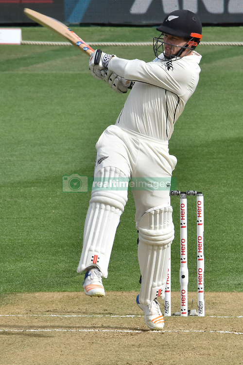 March 23, 2018 - Auckland, Auckland, New Zealand - BJ Watling of Blackcaps bats during Day Two of the First Test match between New Zealand and England at Eden Park in Auckland on Mar 23, 2018. (Credit Image: © Shirley/Pacific Press via ZUMA Wire)