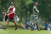 BUBBA WATSON on the 9th hole at Congressional Country Club during the first round of the U.S. Open in Bethesda, MD.