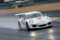 Dino Zamparelli drives the Parr Motorsport run Bristol Sport Racing Porsche 911 GT3 Cup - Photo mandatory by-line: Rogan Thomson/JMP - 07966 386802 - 30/01/2015 - SPORT - MOTORSPORT - Towcester, England - Silverstone Circuit - Dino Zamparelli Test Day - Porsche Carrera Cup GB.