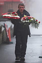 © Licensed to London News Pictures . 16/01/2017 . Oldham , UK .  The funeral of cousins Helina Kotlarova and Zaneta Krokova at St Paul's Church in Oldham . The two girls , aged 12 and 11 respectively , were killed by a hit and run driver whilst crossing the road together , on New Years Eve (31st December 2016) . Photo credit: Joel Goodman/LNP