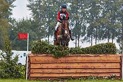 Rider: Hilde van Mieghem<br /> Horse: Zidane<br /> Studbook: KWPN - Koninklijk Warmbloed Paardenstamboek NederlandSire: PharaonDam: Carina<br /> Sire of Dam: Amor<br /> Competition: Military Waregem<br /> Class: CIC3*<br /> Date: 23 September 2018<br /> Location: Waregem<br /> Country: Belgium