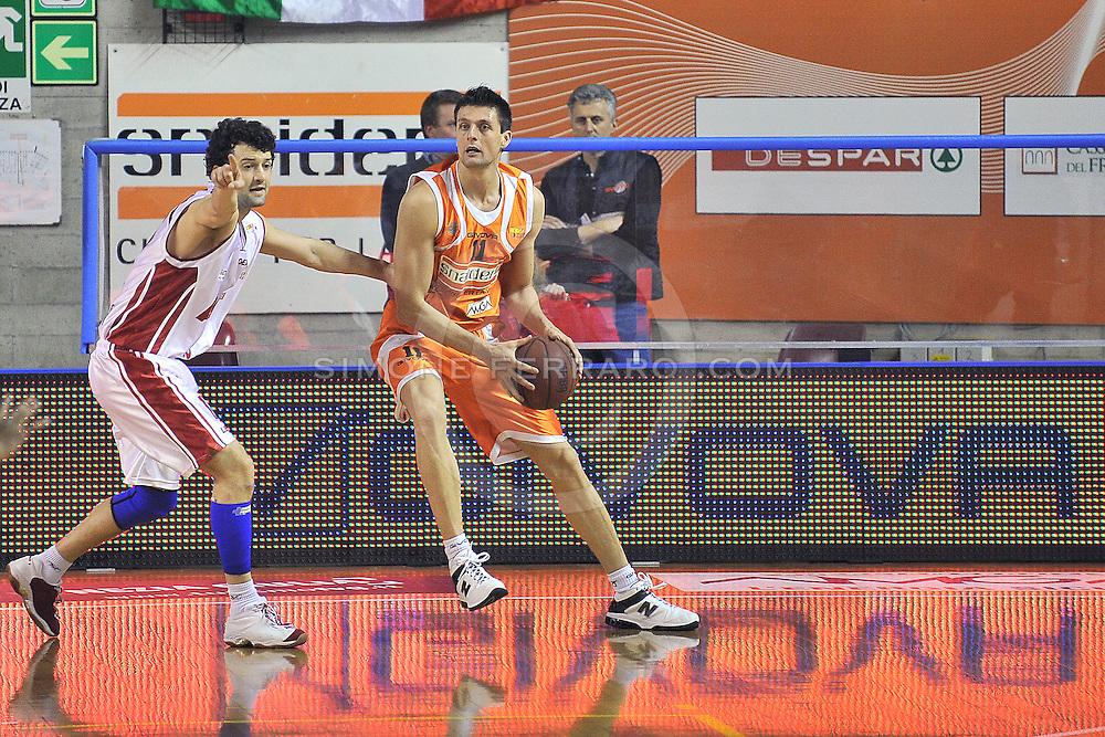 Udine, 20/03/2011..PalaCarnera. Campionato di Basket LegaDue 2010/11. Regular Season. .Snaidero Udine vs Aget Imola..Nella foto: Luigi Dordei..Foto di Simone Ferraro