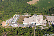 Aerial photo of the aberdeen MD Frito Lay plant construction by Jeffrey Sauers of Commercial Photographics, Architectural Photo Artistry in Washington DC, Virginia to Florida and PA to New England