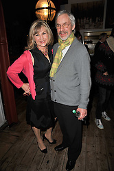 LESLEY GARRETT and her husband PETER GARRETT at the gala night party of Losing It staring Ruby Wax held at he Menier Chocolate Factory, 51-53 Southwark Street, London SE1 on 23rd February 2011.