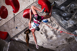 RAKOVEC Lucka of Slovenia during Finals IFSC World Cup Competition in sport climbing Kranj 2019, on September 29, 2019 in Arena Zlato polje, Kranj, Slovenia. Photo by Peter Podobnik / Sportida