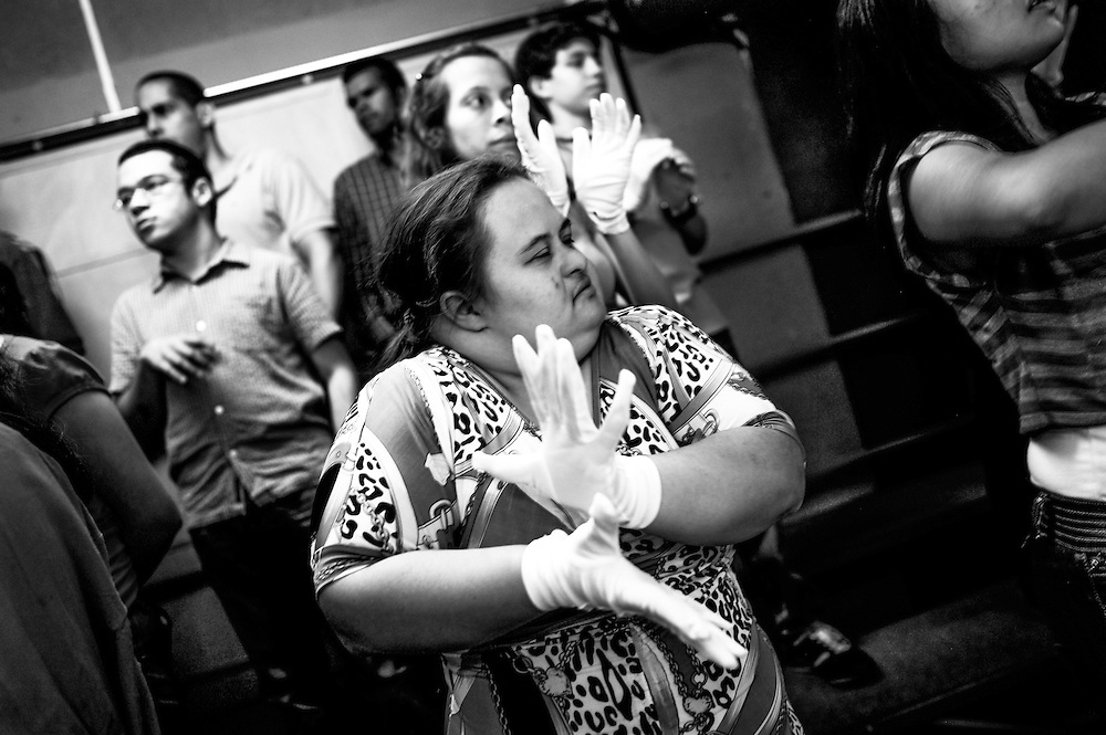 White Hands Choir, is an El Sistema program for special needs students