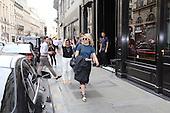 actress DIANNA AGRON Exits Pais Main Line Station