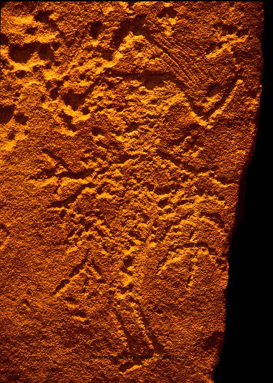 Rock art stele, Sakaka, Saudi Arabia