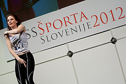during event Miss Sports of Slovenia 2012, on April 21, 2012, in Festivalna dvorana, Ljubljana, Slovenia. (Photo by Urban Urbanc / Sportida.com)