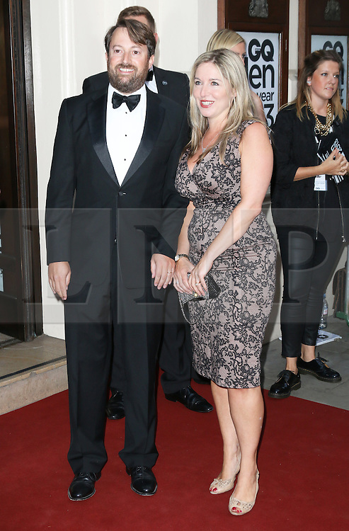 David Mitchell; Victoria Coren, GQ Men of the Year Awards, Royal Opera House, London UK, 03 September 2013, (Photo by Richard Goldschmidt)