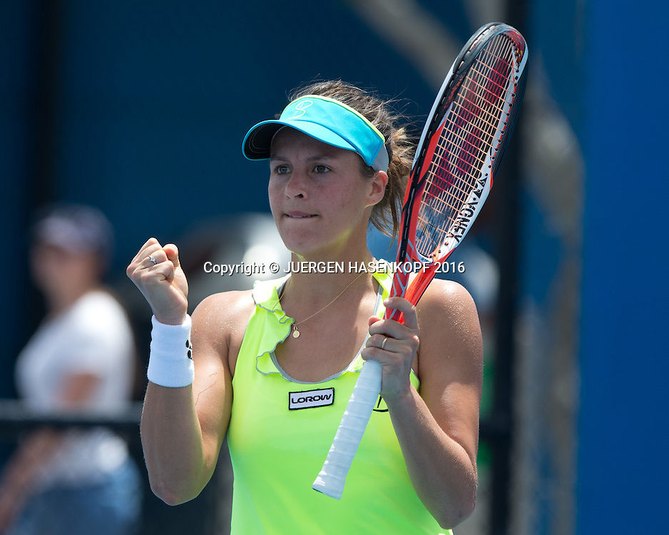 Tatjana Maria, Australian Open 2016<br /> <br /> Tennis - Australian Open 2016 - Grand Slam ITF / ATP / WTA -  Melbourne Park - Melbourne - Victoria - Australia  - 19 January 2016.
