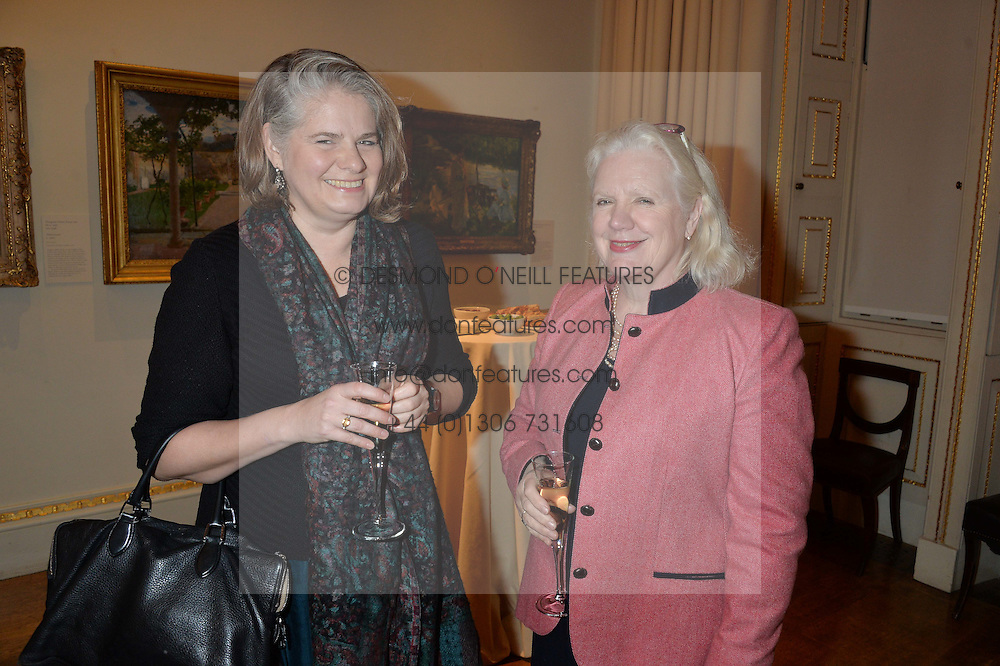 LONDON, ENGLAND 28 NOVEMBER 2016: Left to right, Juliet Carey and Dame Ros Savill at a reception to celebrate the publication of The Sovereign Artist by Christopher Le Brun and Wolf Burchard held at the Royal Academy of Art, Piccadilly, London, England. 28 November 2016.
