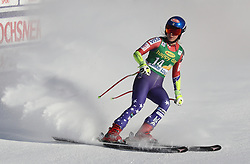 03.12.2017, Lake Louise, CAN, FIS Weltcup Ski Alpin, Lake Louise, Super G, Damen, im Bild Mikaela Shiffrin (USA) // Mikaela Shiffrin of the USA reacts after the ladie's Super G of FIS Ski Alpine World Cup in Lake Louise, Canada on 2017/12/03. EXPA Pictures © 2017, PhotoCredit: EXPA/ SM<br /> <br /> *****ATTENTION - OUT of GER*****
