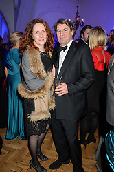 CHARLIE & REBEKAH BROOKS at the Sugarplum Dinner in aid Sugarplum Children a charity supporting children with type 1 diabetes and raising funds for JDRF, the world's leading type 1 diabetes research charity held at One Marylebone, London on 18th November 2015.