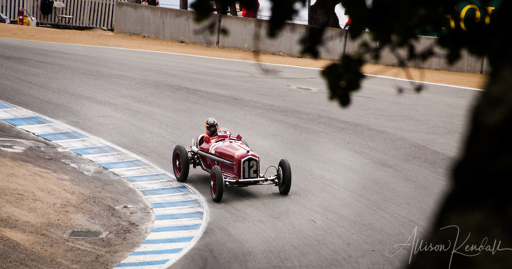 1934 Alfa Romeo Tipo B (P3) driven by Jon Shirley at the 2013 Rolex Monterey Motorsports Reunion