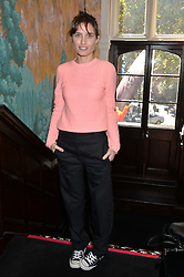 SHEHERAZADE GOLDSMITH at a lunch to view Solange Azagury-Partridge's new collection - Chromance at her store at 5 Carlos Place, London on 7th October 2014.