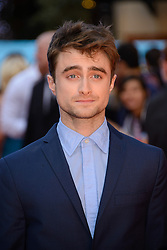 Image ©Licensed to i-Images Picture Agency. 12/08/2014. London, United Kingdom. <br /> Daniel Radcliffe attends the What If - UK film premiere. Leicester Square. Picture by Chris Joseph / i-Images