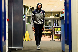 Gentry Thomas of Bristol Flyers arrives at SGS Wise Arena prior to kick off - Photo mandatory by-line: Ryan Hiscott/JMP - 15/11/2019 - BASKETBALL - SGS Wise Arena - Bristol, England - Bristol Flyers v London City Royals - British Basketball League Cup
