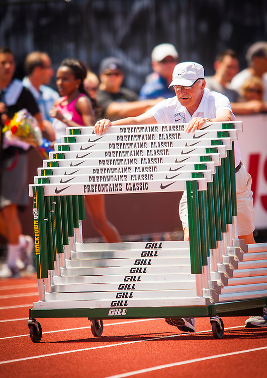The Prefontaine Classic is named for University of Oregon track legend Steve Prefontaine.