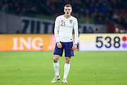 England Jamie Vardy  during the Friendly match between Netherlands and England at the Amsterdam Arena, Amsterdam, Netherlands on 23 March 2018. Picture by Phil Duncan.